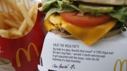 McDonald's conseillait à ses employés de ne pas manger de