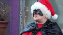 WATCH: BatClaus Saves