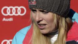 Blessée, la skieuse américaine Lindsey Vonn ne sera pas à