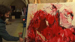 Syrie: Un artiste en exil veut illustrer la