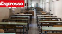 Scuola, emergenza abbandono.