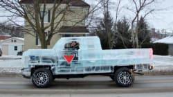 Questa macchina di ghiaccio si può