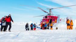 Tous les passagers du navire bloqué en Antarctique ont été