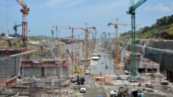 Les travaux du chantier du canal de Panama menacés d'être