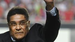 La légende du soccer portugais, Eusebio, est