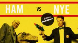 Why Did Ken Ham Bring a Racket to Bill Nye's Football