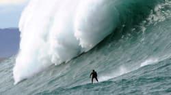 Les surfeurs à nouveau à l'assaut de la géante