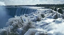 Niagara Falls In All Its Frozen