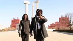 Deux rappeurs tournent leur clip en Corée du