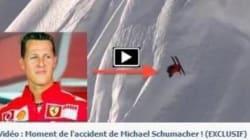 Une vidéo de l'accident de Schumacher? Non, un