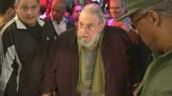 Fidel Castro fait une sortie publique pour la première fois en neuf