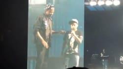 Cantare sul palco con Jay-Z?
