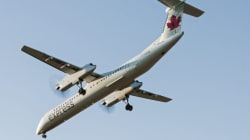 Air Canada Jazz Plane Slides Off