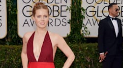 Amy Adams Goes Braless,