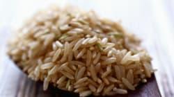 Voici pourquoi le riz brun est plus santé que le riz
