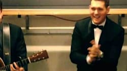 WATCH: Michael Bublé's Sing-Along With Hockey