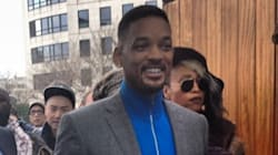 Pour la Fashion Week, Will Smith a fait un effort