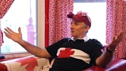 This Man Owns The Most Patriotic Home Canada Has Ever