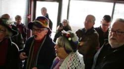 Seniors Take Over Health Minister's Office