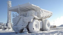 LOOK: The Oilsands In Winter Are