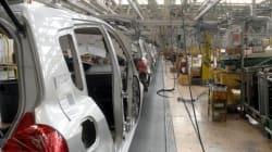 Las ventas de la industria caen por tercer