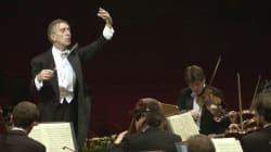 Le célèbre chef d'orchestre Claudio Abbado est