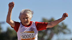 94-Year-Old Track Athlete Just Won't