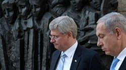 Proche-Orient: Stephen Harper dénonce les
