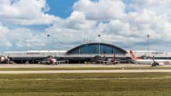 Mondial 2014: un aéroport brésilien aura une tente en guise de