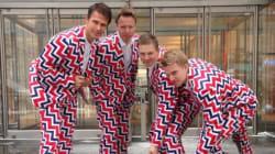 L'équipe de curling de Norvège gagne la médaille d'or du