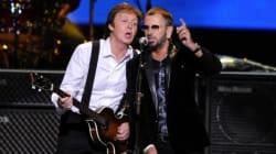 Aspettando i Grammy Awards. Sul palco McCartney e Ringo Starr