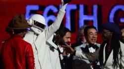 Victoire historique pour le duo français Daft Punk aux Grammy Awards