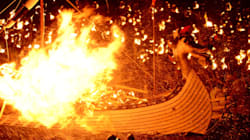 Europe's Viking Fire Festival Is Unlike Anything You've Ever