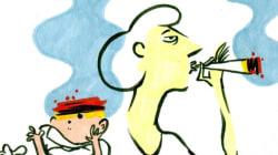 Fumer du cannabis pendant la grossesse? Mauvaise