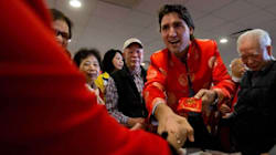 Trudeau Celebrates Chinese New