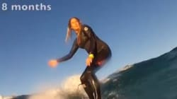 Cette jeune surfeuse australienne va vous