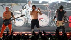 Les Red Hot Chili Peppers au Festival d'été de