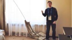 Arrivés dans les hôtels de Sotchi, les journalistes découvrent la face cachée du boom