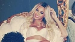 Beyonce Poses In Her
