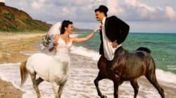 Le mauvais goût des Russes pour leurs photos de mariage peut encore vous