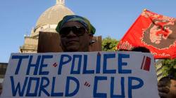Brésil: 100 000 hommes des forces de l'ordre pour la sécurité du