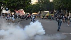 Une manifestation contre la hausse du transport dégénère à