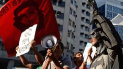 Brésil : les manifestations plongent à nouveau dans la
