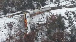 Déraillement d'un train à 40 km de Nice : 2 morts, 9