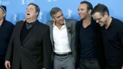 George Clooney e i Monuments Men in versione turisti a Milano