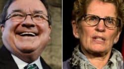 Wynne: Feds Treating Ontario