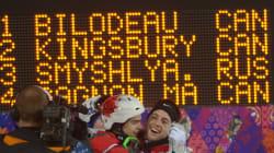 Sotchi 2014: Doublé en bosses: encore l'or pour Alexandre Bilodeau, l'argent pour Mikaël Kingsbury