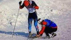 Sotchi 2014: Un entraîneur canadien a aidé un fondeur russe à rallier