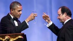 Hollande accueilli avec faste à la Maison-Blanche pour un dîner