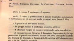 Sel presenta l'emendamento anti blog di Grillo. Rivolta M5s in